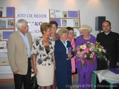 Spotkanie z Barbarą Wachowicz