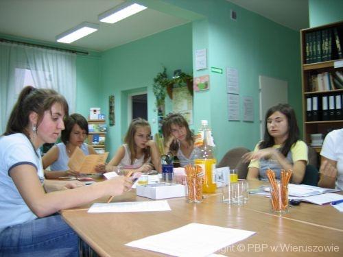 Wakacyjne spotkania ze sztuką 2005