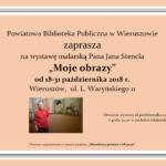 Wystawa prac Jana Stencla